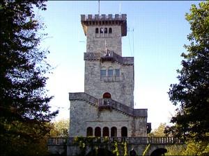 Башня на горе Ахун Сочи