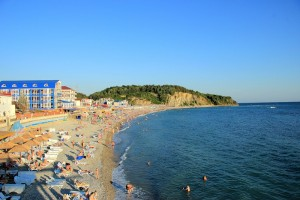 Пляж Туапсе