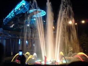 Поющий фонтаны в Сочи