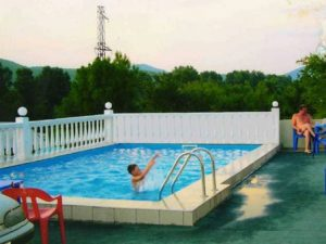 бассейн гостевой дом Аэлита Лермонтово