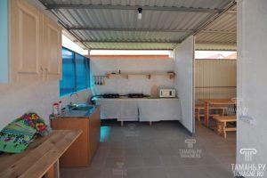 Автобусом к морю из Тулы в Голубицкую гостевой дом ЛАЗУРЬ кухня