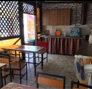 Автобусом к морю из Тулы в Голубицкую гостевой дом ЖАРА кухня