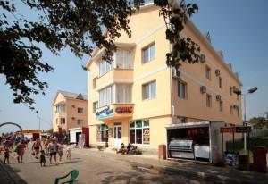 Автобусом к морю из Тулы в Джемете отель МОРСКОЙ БРИЗ корпус