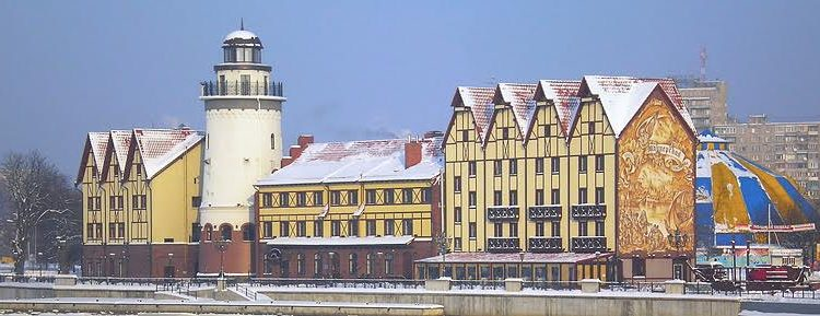 Экскурсионные туры в Калининград на Новогодние праздники 2017