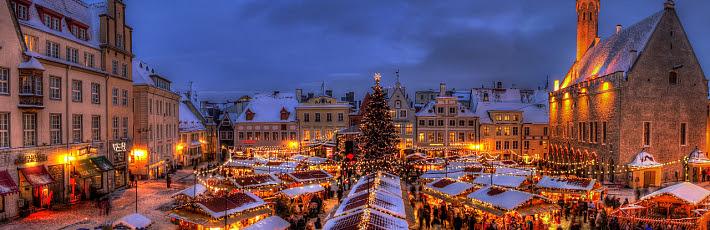 Роскошный средневековый Таллин