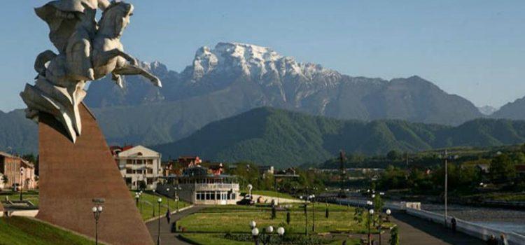 Кавказа сияющие вершины