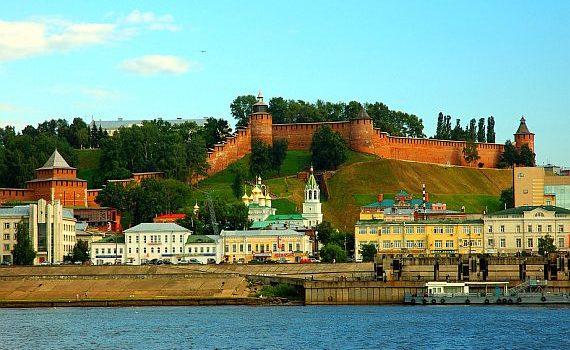 Нижний Новгород — Городец