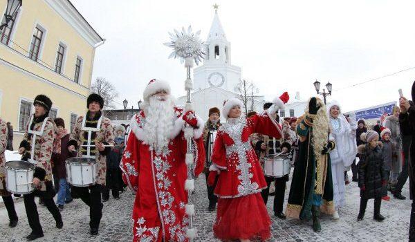 Рождество в Казани 2018