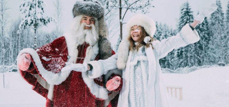 Рождественский обоз к Карельскому Деду Морозу