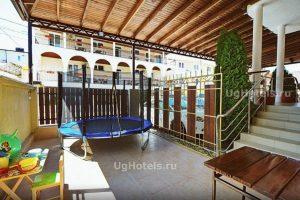 комната 2 мини гостиница Мелодия Джубга