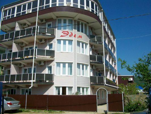 Автобусом к морю из Тулы в Лермонтово гостевой дом ЭДЕМ