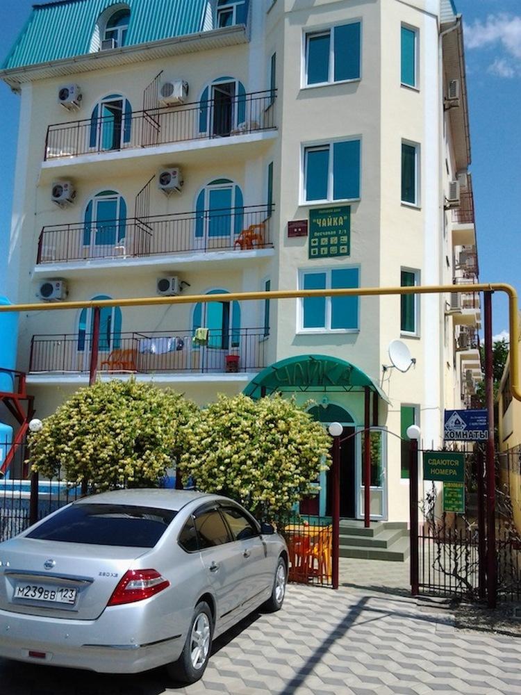 Автобусом к морю из Тулы в Джемете гостевой дом ЧАЙКА