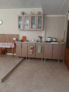 Автобусом к морю из Тулы в Геленджик гостевой дом АРТА летняя кухня