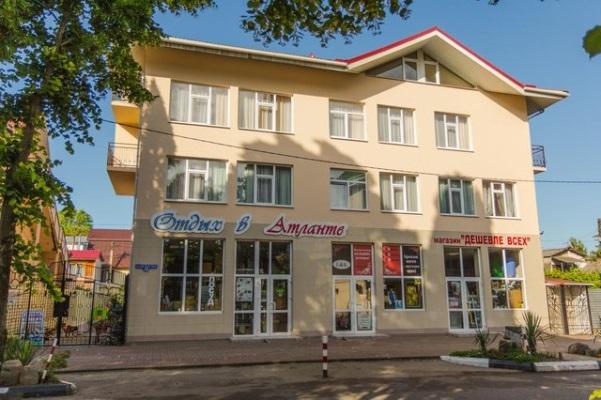 Автобусом к морю из Тулы в Лазаревское отель АТЛАНТА