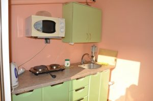 Автобусом к морю из Тулы в Крым Феодосию гостевой дом ОРХИДЕЯ кухня