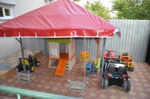 Автобусом к морю из Тулы в Крым Феодосию гостевой дом ОРХИДЕЯ детская площадка