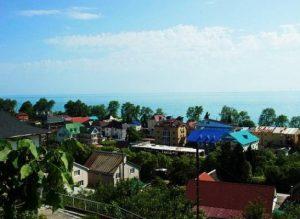 Автобусом к морю из Тулы в Лазаревское гостевой дом ВЛАДИСЛАВА вид на море