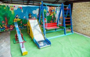 Автобусом к морю из Тулы в Анапу гостевой дом ЭРСИКО корпус 3 детская площадка