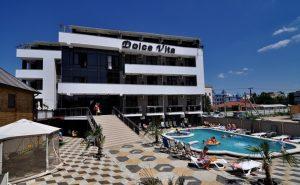 Автобусом к морю из Тулы в Витязево отель DOLCE VITA бассейн