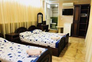 Автобусом к морю из Тулы в Адлер гостиница НАИРА номер 16