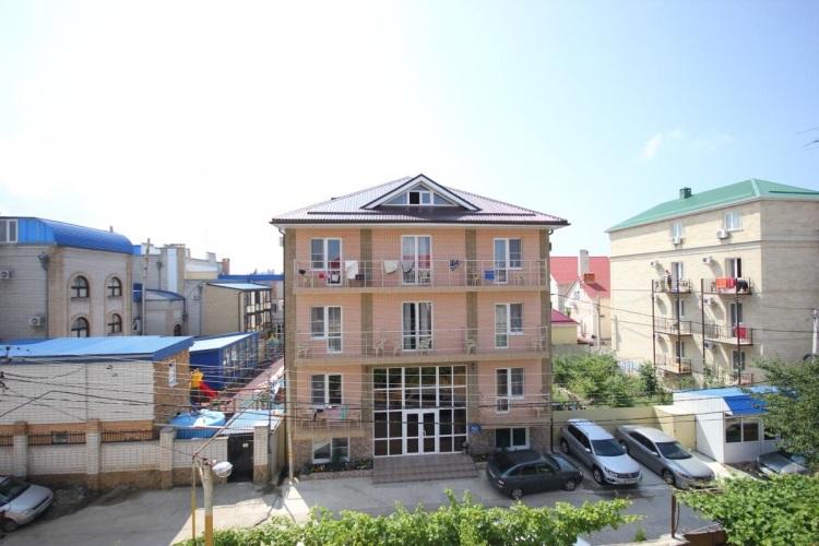 Автобусные туры к морю из Тулы в Витязево отель РАДУГА