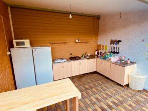 Автобусом к морю из Тулы в Архипо-Осиповку гостевой дом SORRENTO кухня