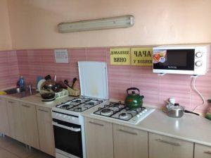 Автобусом к морю из Тулы в Лазаревское гостевой дом БЕЛАЯ АКАЦИЯ кухня