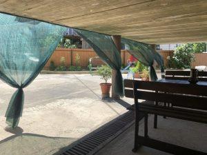 Автобусом к морю из Тулы в Лермонтово гостевой дом КАРАМЕЛЬ балкон место отдыха