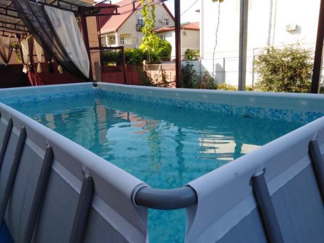 Автобусом к морю из Тулы в Витязево гостевой дом VIVENNS (ВИВЕНС) бассейн