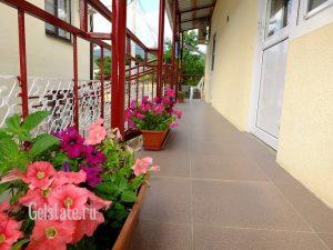Автобусом к морю из Тулы в Кабардинку гостевой дом ЕЛЕНА балкон