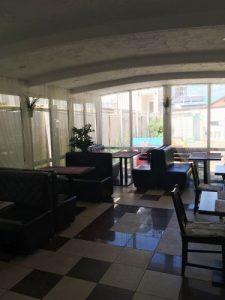 Автобусом к морю из Тулы в Джемете гостевой дом КАТРИН столовая
