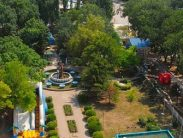 Автобусом к морю из Тулы в Крым Евпаторию санаторий ПОБЕДА территория
